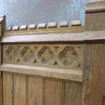 oud paneel/lambrisering