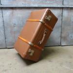 oude antieke koffer