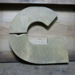 letter G art deco