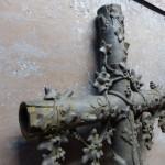 antiek grafkruis
