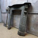Oude antieke schouw