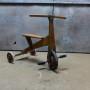 oude houten driewieler