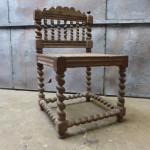 antieke stoel eiken