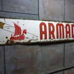 emaille bord reclame Armada