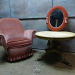 retro club fauteuil