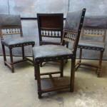 Henry Deux stoelen mechelse stoelen