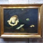 antiek schilderij