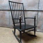 vintage schommelstoel Afa Antwerpen
