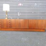 Vintage sideboard palissander hout