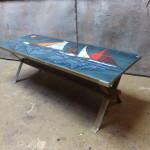 Adri tegeltafel retro vintage design