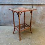 antiek bamboe tafeltje