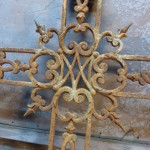 antiek grafkruis kruis