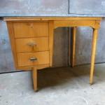 vintage bureau retro bureautje