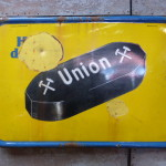 Emaille bord Union
