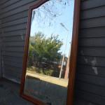 grote antieke spiegel