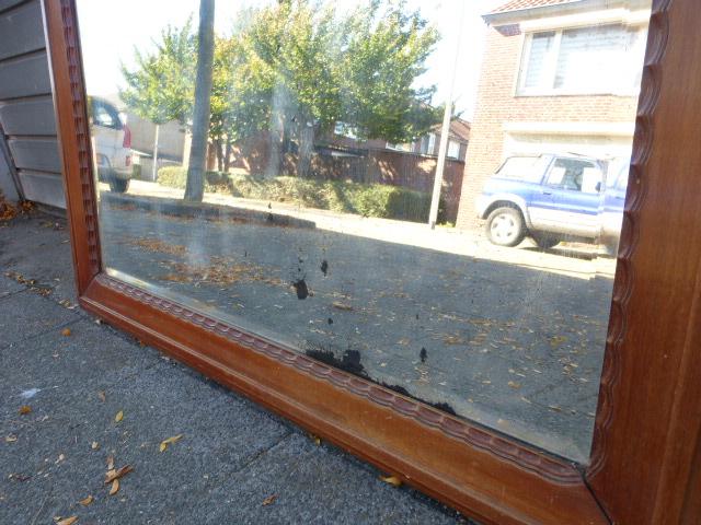 Grote Spiegel Industrieel : Grote antieke spiegel