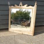 oude antieke spiegel kermis