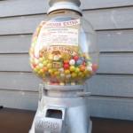 antieke kauwgomballen automaat vintage