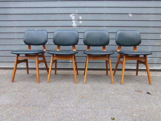 Design Pastoe Stoelen : Set pastoe stoelen