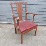 antieke Chippendale stoel