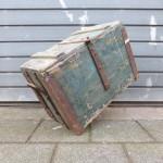 oude kist antiek industrieel