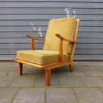 Vintage design armstoel fauteuil retro