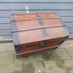 oude reiskist koffer brussels