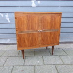 Vintage design kastje teak