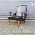vintage design armstoel fauteuil