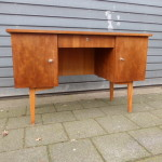 Vintage bureau design retro teak