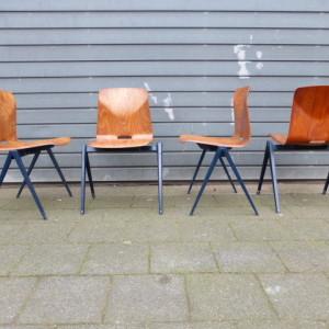 Plagholz thur op seat schoolstoelen s16 model