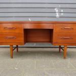 vintage design bureau teak