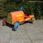 oude trapauto antiek speelgoed