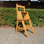 Vintage trapje stoel