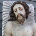 Beeld jezus houtsnijwerk