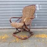 vintage design rotan fauteuil