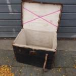 oude koffer mand kist antiek brocante