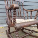 antieke schommelstoel Bobbinchair