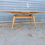 vintage design tafel verstelbaar
